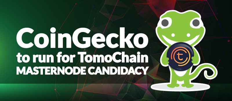 CoinGecko Partner with Tomochain