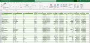 A sample portfolio tracker built using Microsoft Excel with CoinGecko's API